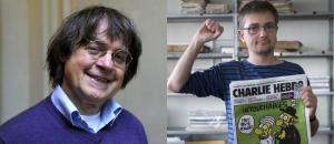 Charlie Hebdo cartoonists Charb and Cabu