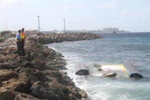 Barbados Catamaran Sinking