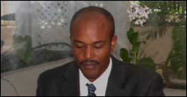 Barbados Magistrate Frederick Douglas