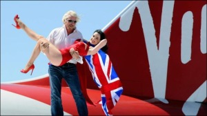 Sir Richard Branson - lucky old bastard!